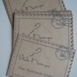 Postcard Package Tags