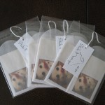 Package of 4 Gift Enclosure Cards