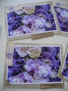 Sewn Art Blank Card