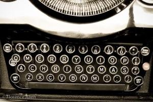 Typewriter Key Greeting