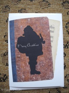 Antique Journal Santa