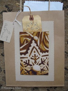 Gift Bag with Tissue and Tag