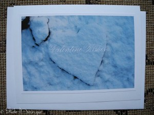 Snowbound Heart Greeting