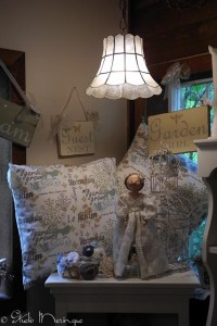 Pillows & Painted Signs