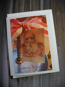 Santa Tag at Vintage Roost