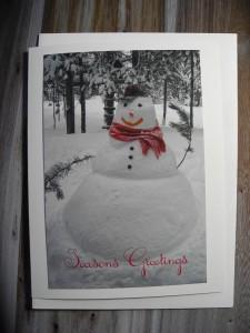 Crescent Creek Snowman