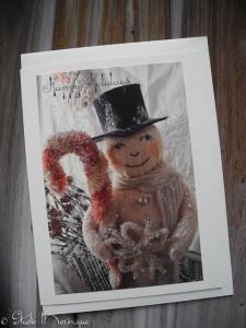 Top Hat Santa