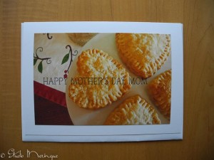 Happy Mother's Day Heart Tart Card. (Say that 3 times fast!)