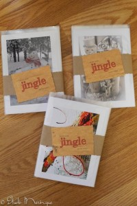 Cards ready to personalize with your Christmas message and mail! 10 Beautiful Handmade Cards for $10.00